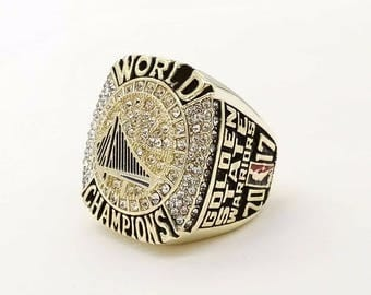 2017 Golden State Warriors NBA championship Ring, #30 Curry Size 6-15