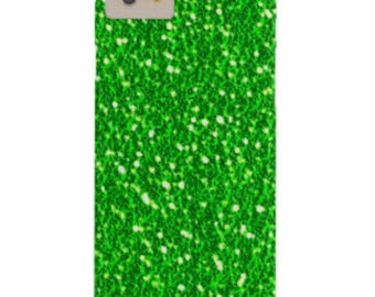 Green glitter iPhone 4