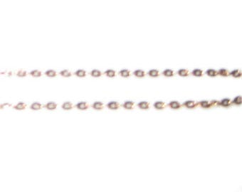 """2mm Gold Link Chain, 40"""" length"""