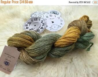 "SALE Batiste Yarn, Hand Painted, ""Sprout"" #6520, Merino, Linen & Silk, Knitting Yarn, Sport Weight, 208 Yards"