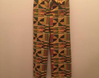 Kente Cloth Look