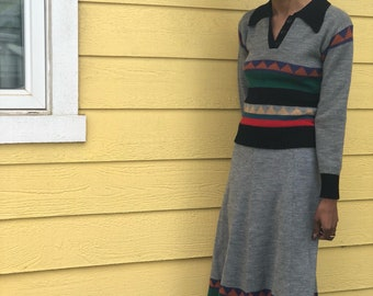 Stranger Things Skirt + Sweater Set