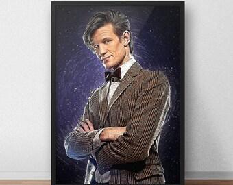 Matt Smith Doctor Who Poster