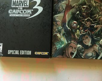 Marvel vs cap com fate of two warids ps3 Games special edition game xbox 360