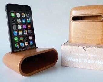 iwood-speaker  原木擴音器