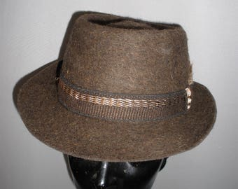 Man's Fedora Fur Felt Hat