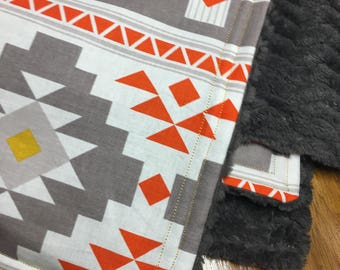 Tribal Minky Blanket