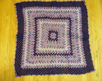 Granny Square Afghan for laps