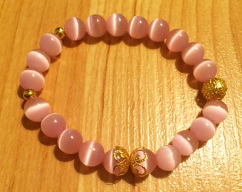 Warm Pink with Gold