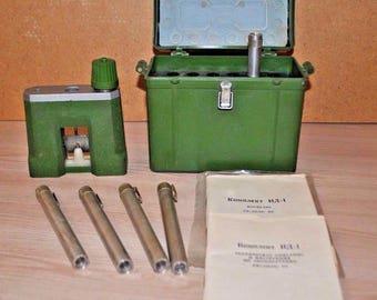 Vintage dosimeter ID-1 USSR radiation detection tool Personal dosimeter