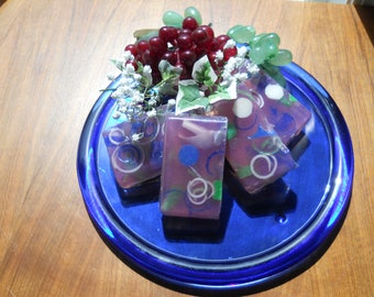 """Handcrafted """"Plum Crazy"""" Glycerin Soap"""