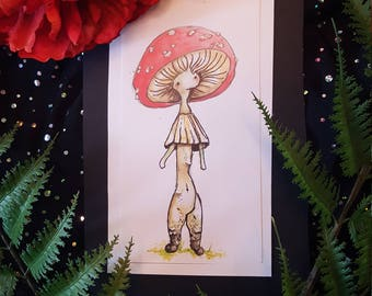 "Original Fairy Art ~ ""Cap"""