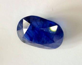 8,43 Ct Blue Sapphire