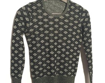 70s glam rock pullover