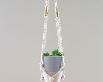 Macrame Plant Hanger - Small
