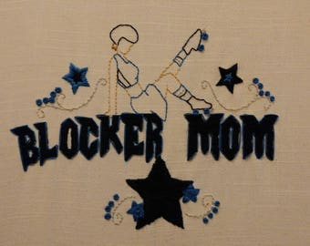 Custom Roller Derby Embroidery