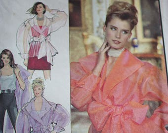 Glam Sheer Blouse Pattern---Style 2008---sizes 8-18  UNCUT