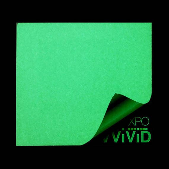 Vinyl Wrap Roll Adhesive Sticker Decal Glow In The Dark Green - Vinyl decal paper roll