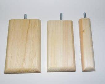 Chinvilla Chinchilla Natural Kiln Dried Pine Ledge Perch for Climbing - Bundle of 3 - FREE SHIPPING