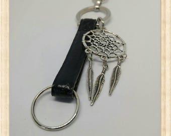 Keychain - bag - Dreamcatcher - dream catcher jewelry - snake