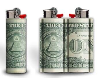 Illuminati Dollar Lighter