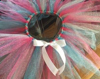 Glitter Tulle Tutu - 1st Birthday