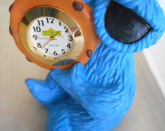 Cookie Monster Clock