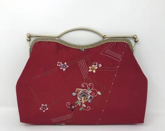 RWG hand made embroidered silk handbag(SALE)
