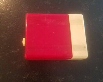 Free Shipping! Roger Slide Vintage Cigarette Case