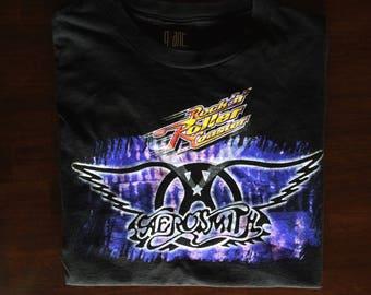 90s Aerosmith Roller Coaster Tee