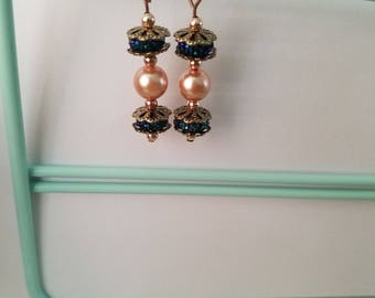 Elegant Pearl earrings (4 Different styles in 2 different colors)