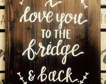 Fridge and Back