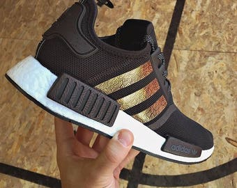 """Custom colored Adidas NMD Runners in """" WAVES"""""""