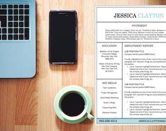 Traditional and Polished Resume