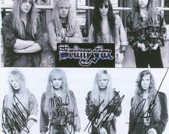 Britny Fox The Bite Down Hard Demo Sessions Rare CD