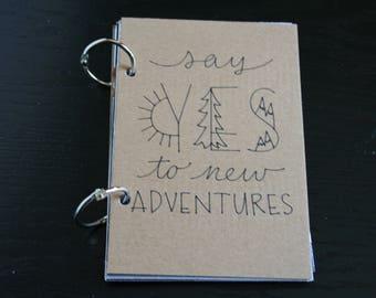 Travel Journal, Smash Book, Junk Journal, Memory Keeping