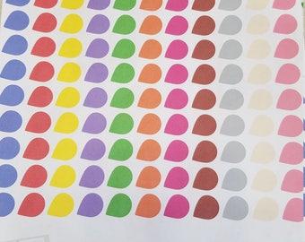 Planner Stickers - Tear Drops
