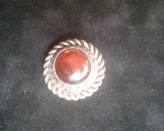 Unique Vintage Pin, repurposed from a Vintage earring.