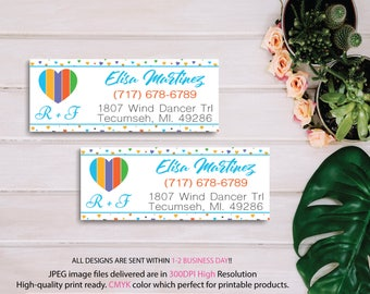 Rodan and Fields Return Address Labels, Fast Personalized, Rodan + Fields Independent Consultant, Rodan and Fields Cards, Digital files RF16