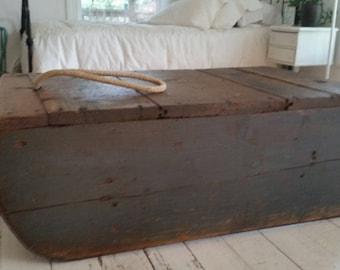Vintage Child's Wooden Sled
