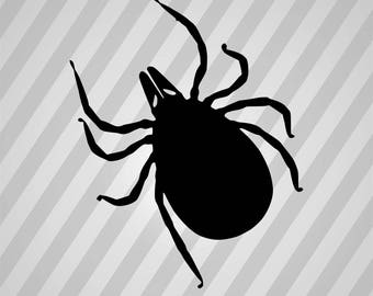 Simple tick silhouette - Dxf, Svg, Eps, Rld, RDWorks, Pdf, Png and AI Print Files, Digital Cut, Vector File, Svg File
