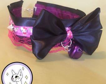 Hello Kitty Lace Collar/choker