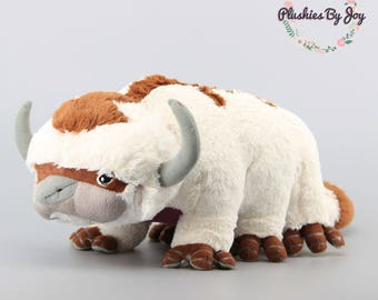 Avatar Appa The Last Airbender Plush Toy Flying Bison Legend of Korra Stuffed Doll Pillow Large