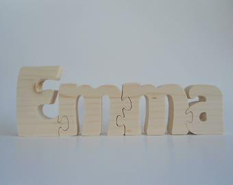 Name personalized children 3D puzzle
