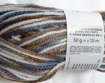 10 balls of yarn changing / 315 / French brand
