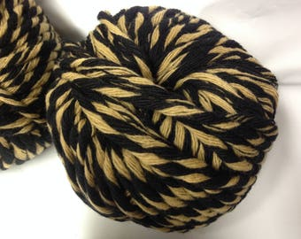 over-sized / lot 10 balls 8 clouded pure wool and camel / made in FRANCE