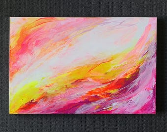 """Painting on canvas """"Light My Life"""""""