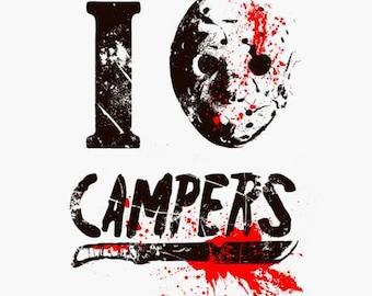I (hockey mask) Campers - Jason Voorhees