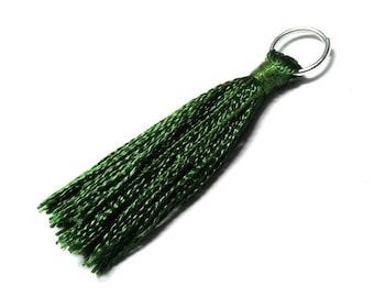 Green rayon TASSEL