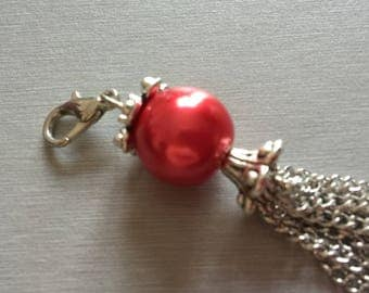 Red Pearl pendant